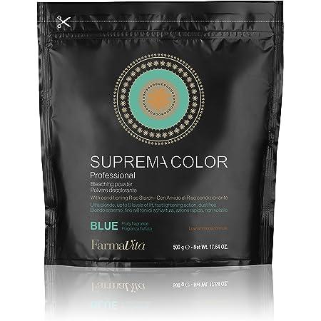 Farmavita Suprema Decolorante en Polvo Azul - 500 gr