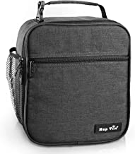 Reusable Lunch Bag, Insulated Lunch Box for Men/Kids,Tough & Spacious Adults Cooler Bento Box for Men & Women(AU18654-DG)