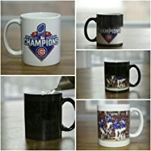 World Series Champion Chicago Cubs Color Changing 11oz. Coffee Mug plus a free 3
