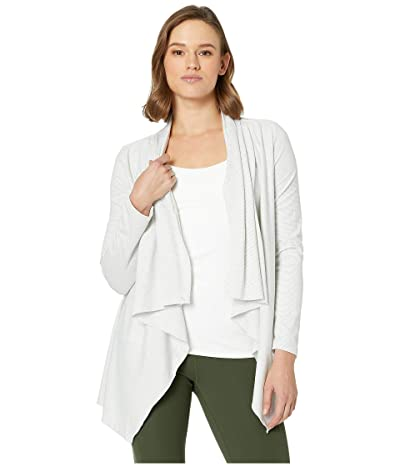 manduka Breathe Drape Cardigan (Chalk Slub) Women