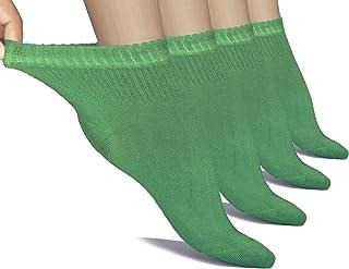 Hugh Ugoli Loose Diabetic Ankle Socks, Bamboo, Wide, Thin, S