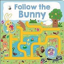 Maze Book: Follow the Bunny (Finger Mazes)