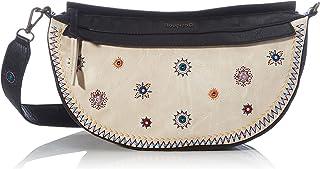 Desigual Womens PU Shoulder Bag, Brown, U