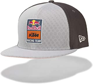 Red Bull KTM New Era 9Fifty Reflective Flat Cap, Grey Unisex Hat, KTM Factory Racing Original Clothing & Merchandise