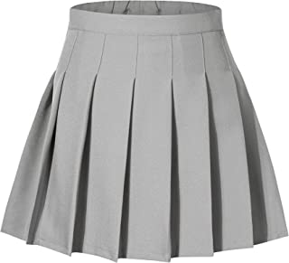 Tremour Kids School Uniforms Girls Pleated Skirt with Shorts 2 Years- 14 Years