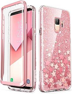 i-Blason Cosmo Full-Body Glitter Sparkle Bumper Protective Case for Galaxy S9 2018 Release Galaxy-S9-Cosmo-SP-Pink
