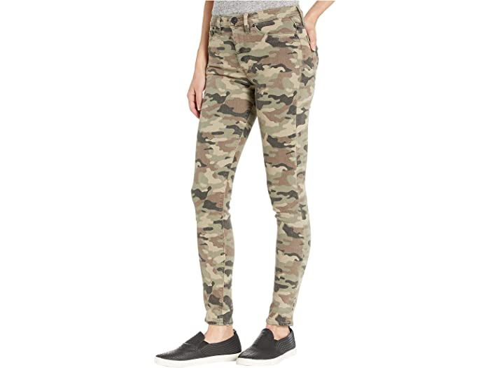 Hudson Jeans Barbara High-waist Super Skinny Ankle In Worn Camo