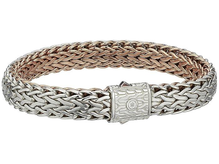 John Hardy  Classic Chain 11mm Reversible Bracelet (Silver/Bronze) Bracelet