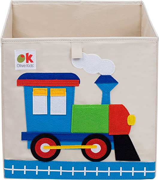 Wildkine 13 Inch Storage Cube Train