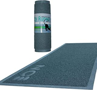 Kitty Cat Litter Mat Extra Large (XL) Automatically Collects Granules From Paws for Scoopable , Dustless And All Other Cat Litters