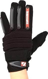 Barnett FLG -02 high Level Linemen Football Gloves, OL, DL, Black- Adult & Youth Football Glove