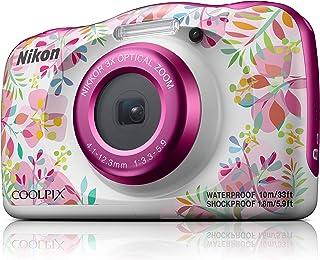 Nikon W150 Australian Warranty Nikon Coolpix W150 Digital Camera Pink Pattern, Pink Pattern (VQA113AA)