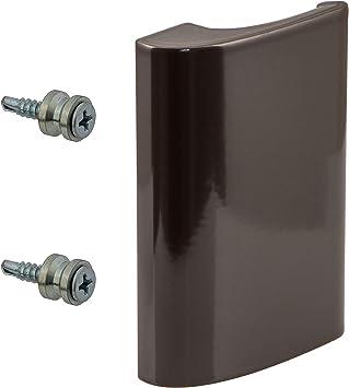 Gwxevce Tirador de Puerta de aleaci/ón de Aluminio Tirador de balc/ón Tirador de Ventana Tirador de Puerta Tirador de Puerta para Muebles Blanco