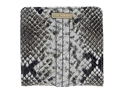 Brahmin Felix Jane Wallet (Stone) Handbags