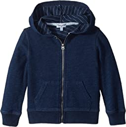 Splendid Littles - Always Baby French Terry Indigo Hoodie (Toddler/Little Kids)