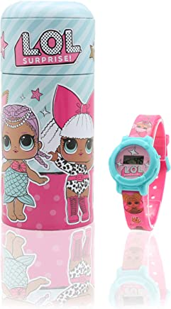 Orologio LOL Surprise ! per Bambina con Salvadanaio in Latta Accessori Bimba Bambole LOL Confetti Pop