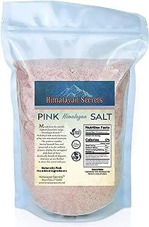 2 LB Himalayan Dark Pink Salt - 100% Natural & Unrefined by Himalayan Secrets - Coarse - Fine - Powder (Powder)