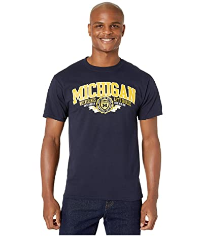 Champion College Michigan Wolverines Jersey Tee (Navy 3) Men