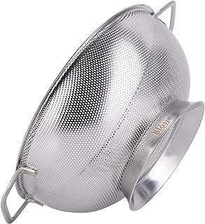 Blasjø: Colador de cocina de acero inoxidable