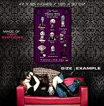 51115 Tim Burton's Tragic Toys Movie Decor Wall 47x35 Huge Giant Poster Print