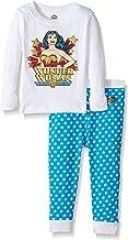 INTIMO Girls' Classic Wonder Pajama Set