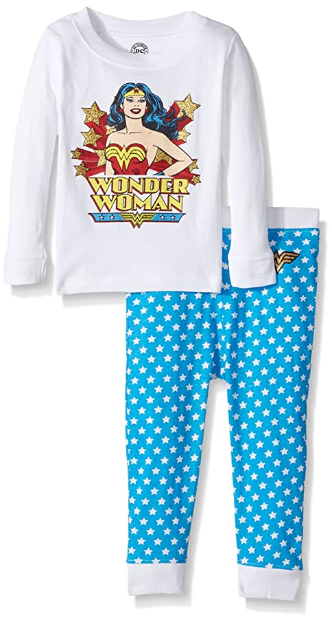 INTIMO Girls' Classic Wonder Pajama Set