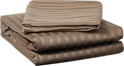 Bronze Queen Size 240 x 260 cm Hotel Linen Bedding Set - 3 Pieces