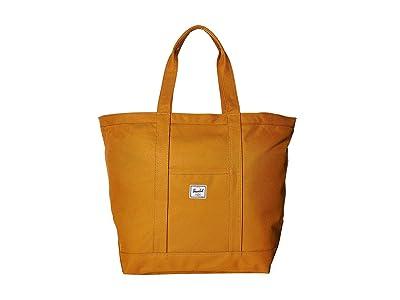Herschel Supply Co. Bamfield Mid-Volume (Buckthorn Brown) Tote Handbags