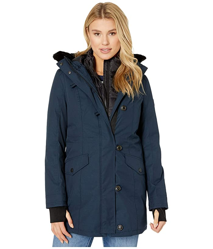 UGG  Adirondack Parka (Navy) Womens Clothing