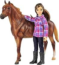 Breyer Freedom Series (Classics) Western Horse & Rider Doll Set | (1:12 Scale) | Model #61116