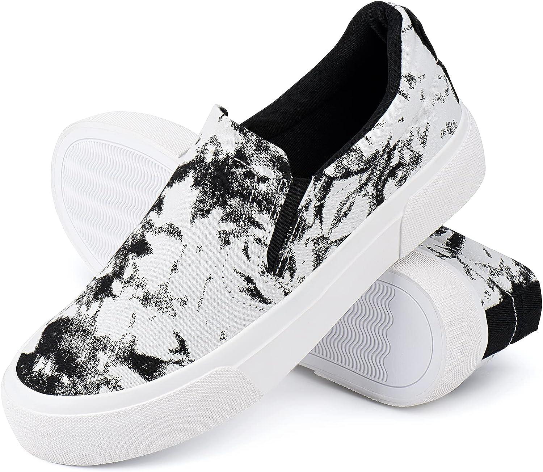 JENN ARDOR Women's Casual Slip-on Shoes Trendy Comfortable Walki