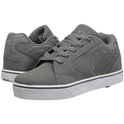 Heelys Vopel (Little Kid/Big Kid/Adult) (Charcoal/Charcoal/White) Boys Shoes