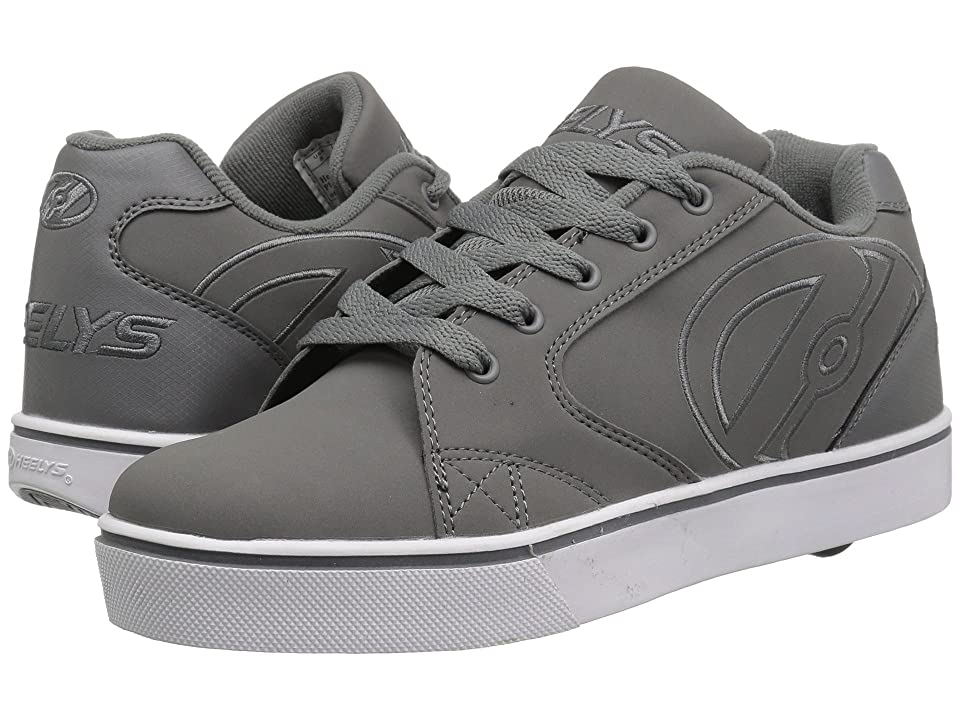 Heelys Vopel (Little Kid/Big Kid/Adult) (Charcoal/Charcoal/White) Boys Shoes
