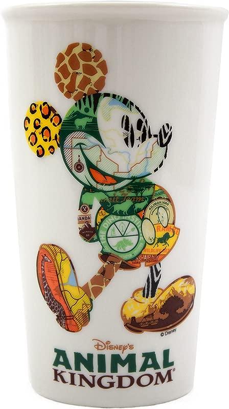Disney Starbucks Animal Kingdom Mickey Icon Double Wall Travel Tumbler