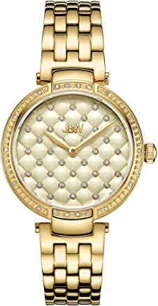 JBW Dress Watch Analog Display Swiss Ronda 1032 for Women J6356E