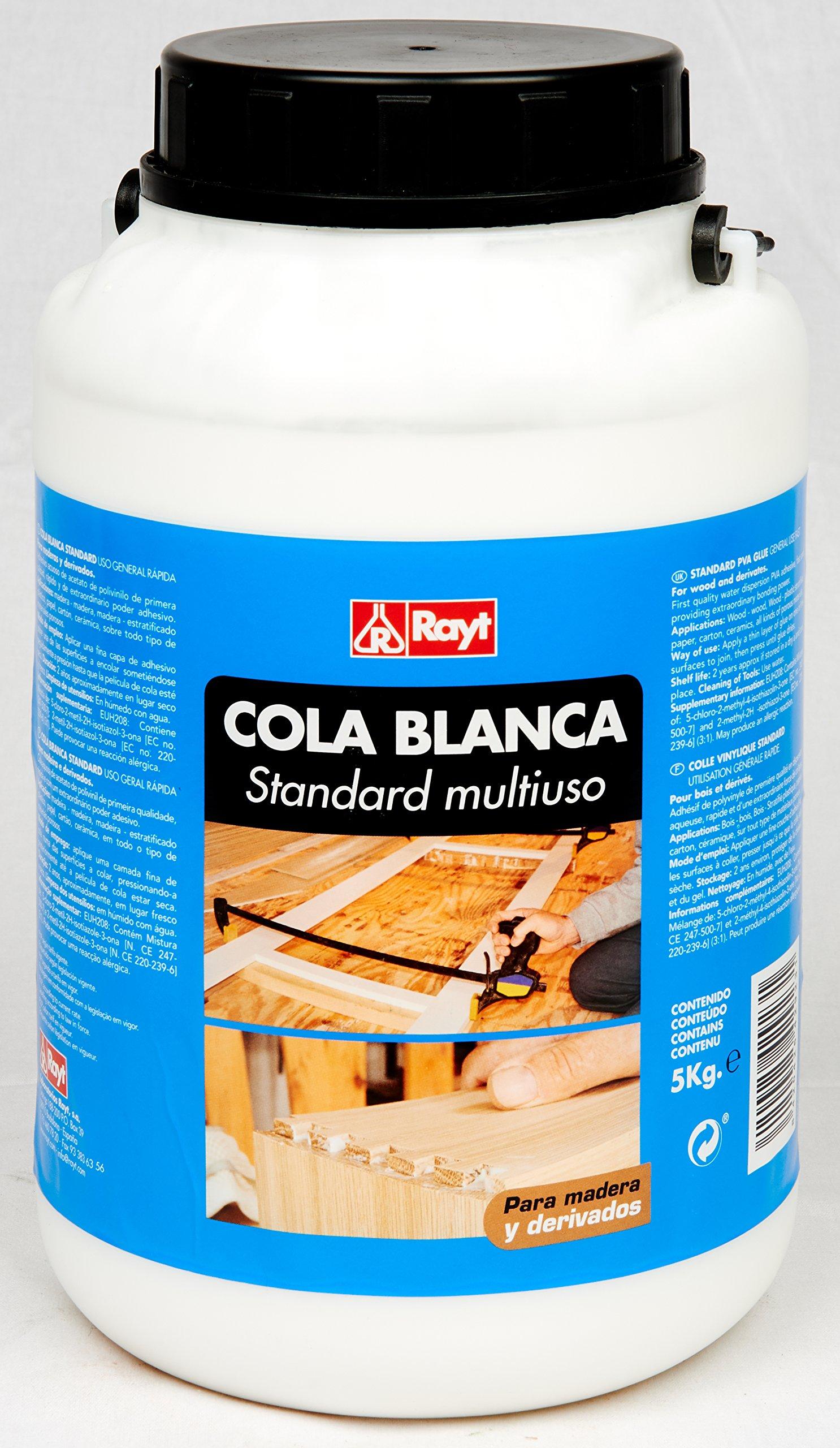 Rayt 429-23 Cola Blanca Standard múltiples usos: Madera, Papel ...