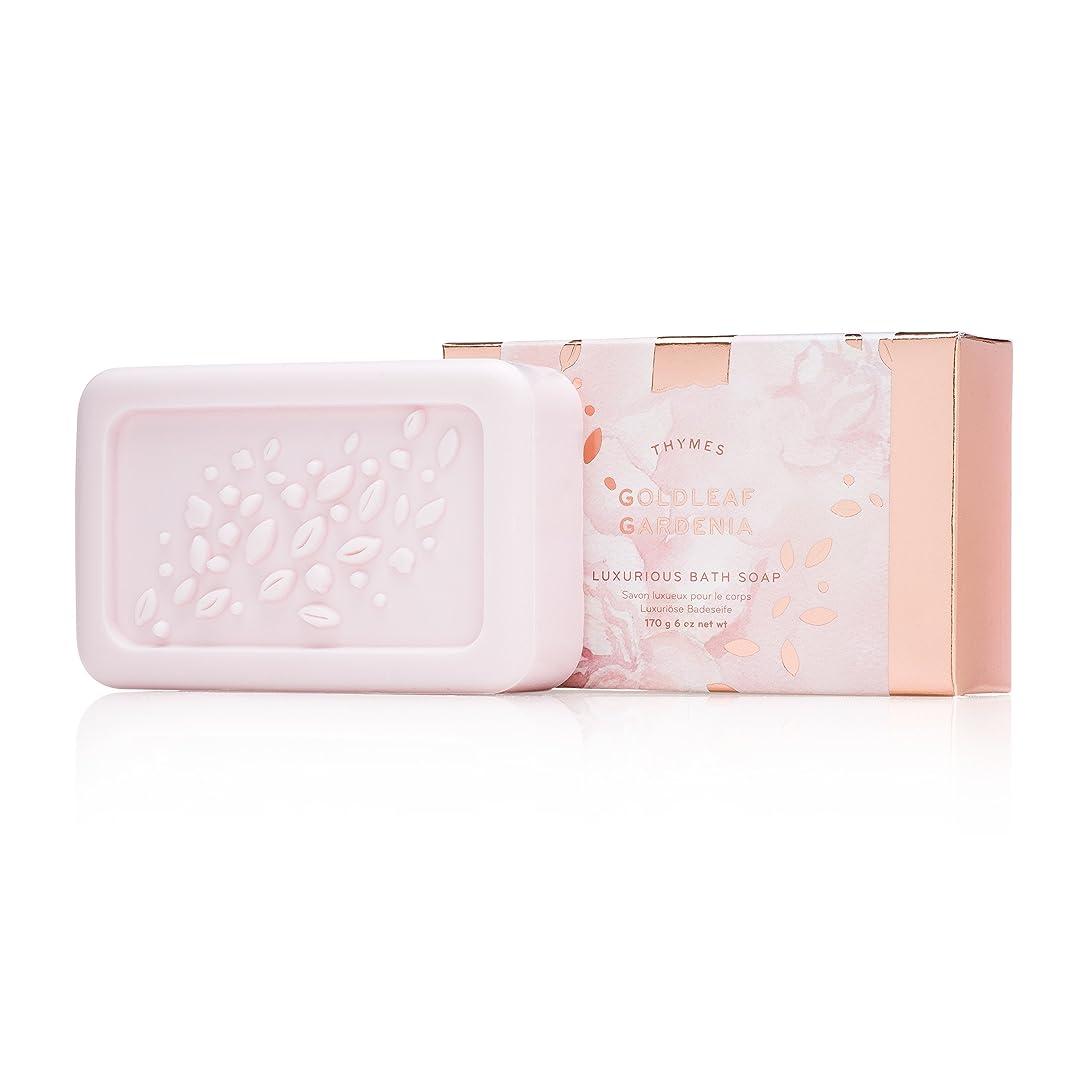 キッチン大聖堂レンドタイムズ Goldleaf Gardenia Luxurious Bath Soap 170g/6oz並行輸入品