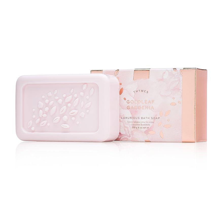 マーケティング音節マガジンタイムズ Goldleaf Gardenia Luxurious Bath Soap 170g/6oz並行輸入品