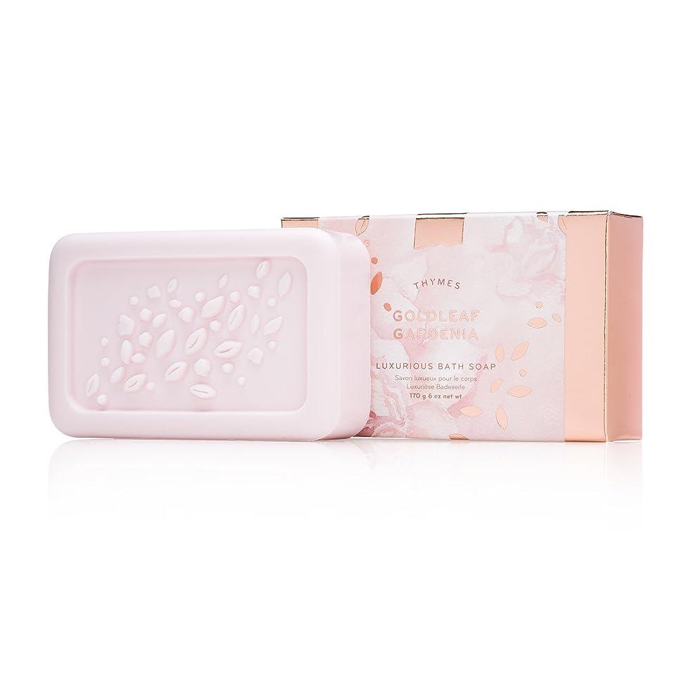 絶対に持っている工場タイムズ Goldleaf Gardenia Luxurious Bath Soap 170g/6oz並行輸入品