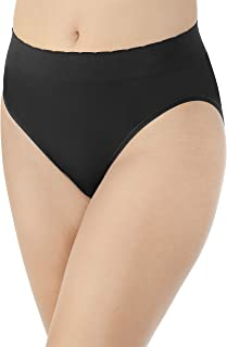 Vanity Fair Women's No Pinch-No Show Seamless Hi Cut Panty 13171