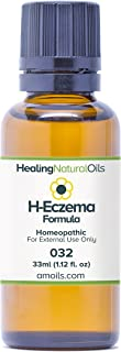 #1 Eczema Treatment Alternative: H-Eczema Formula, The Natural Way for Dermatitis, Weeping Eczema and Excema Skin Rashes (33ml)