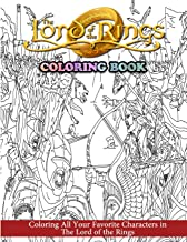 The Lord of the Rings Coloring Book: Coloring All Your Favorite Characters in The Lord of the Rings