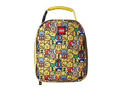 LEGO Minifigure Lunch Bag (Yellow) Duffel Bags