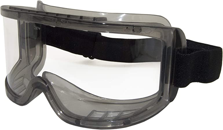 Tuff Gard Hurricane Clear//Anti Fog Fit Over Most Safety Glasses Telescoping Z87+