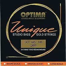 Best optima gold strings bass Reviews