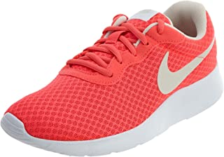 Nike Women's Tanjun Solar Red/Lt Orewood BRN White Running Shoe