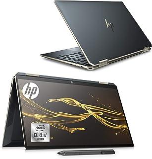 HP ノートパソコン HP Spectre x360 13 インテルCore i7 Optaneメモリー搭載 16GB/512GB SSD 13.3インチ フルHD タッチパネルディスプレイ のぞき見防止フィルター アクティブペン標準添付 WPS Office付き ポセイドンブルー(型番:1A938PA-AAAA)