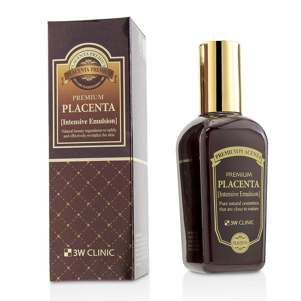 結紮ゴシップラッチ3Wクリニック Premium Placenta Intensive Emulsion 145ml/4.83oz並行輸入品
