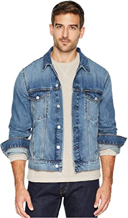 Modern Classic Trucker Jacket in Ed Blue