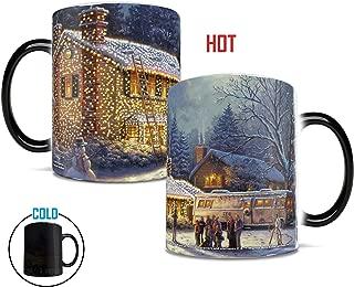 Morphing Mugs National Lampoons Christmas Vacation Painting Heat Reveal Ceramic Coffee Mug - 11 Ounces